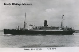 Postcard of R.M.S. Samaria