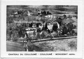 Postcard of Chateau du Couloume