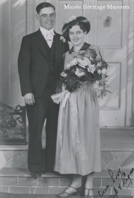 Napoleon Gagne and Agnes Laight wedding