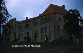 Exterior of Chateau du Couloume - Renovations