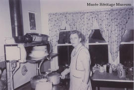 Agnes Laight cooking