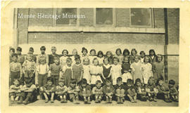 Grade 1 and 2 class, 1944-1945