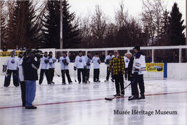 2nd annual Backyard classic hockey