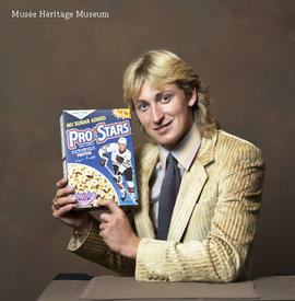 Wayne Gretzky and Pro Stars cereal
