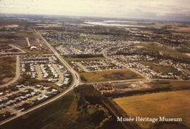 Aerial photos of St. Albert