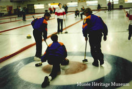 Boys curling team