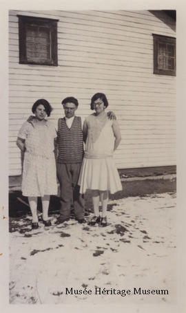 Aurore, Napoleon Jr., and Florence Gagne