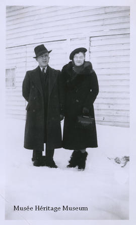 Wilfred Guenette and Florence Gagne