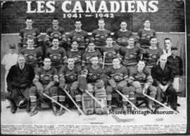 Les Canadiens hockey team