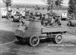 Armoured vehicle from 1st Automobile Machine Gun Brigade