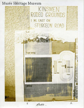 Map of rodeo grounds