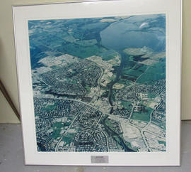 Big Lake aerial photograph
