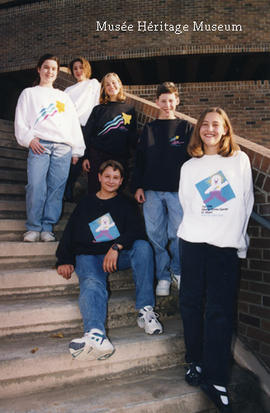 1994 Alberta Winter Games shirts