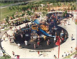 Woodlands water play park photograph