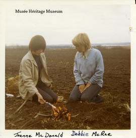 Joanne McDonald and Debbie McRae, ca. 1969 - p. 1